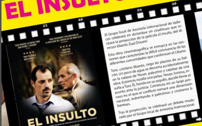 Amnistía Internacional organiza Cine Fórum